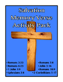 Salvation Memory Verses Activity Pack