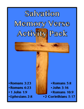 Salvation Memory Verses Activity Pack