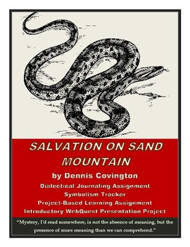 Salvation on Sand Mountain: Dialectical Journal, Project-Based Mini-Lessons