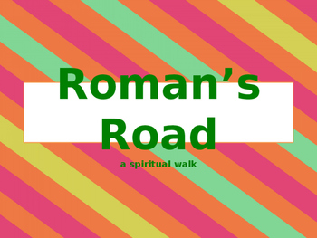 Salvation using the Roman's Road for kids