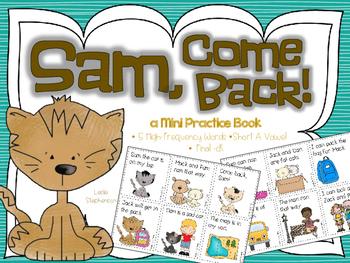 Sam, Come Back - A Mini Book