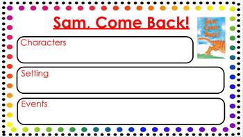 Sam, Come Back! {ACTIVboard Flipchart}