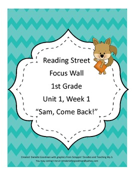 Sam, Come Back! Focus Wall Grade 1 Reading Street