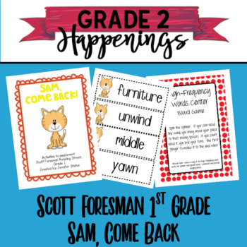 Sam, Come Back Reading Street Grade 1