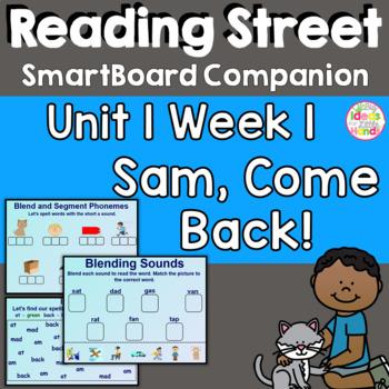 Sam Come Back SmartBoard Companion 1st First Grade