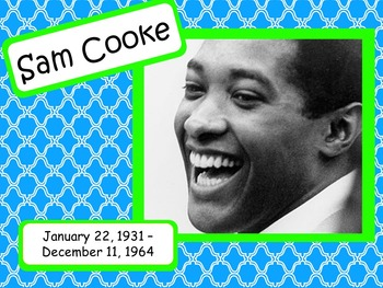 Sam Cooke: Musician in the Spotlight