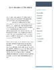 Sam Houston -- CLOZE Reading