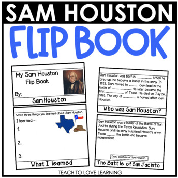 Sam Houston Flip Book