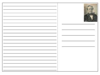 Sam Houston Postcard Templates