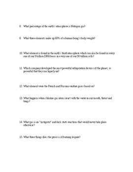 Sam Kean's CAESAR'S LAST BREATH Book Questions