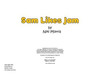 Sam Likes Jam - Printable Book