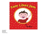 Sam Likes Jam - Printable Book