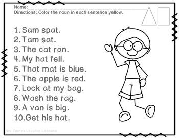 Sam-Reading Street- 1st Grade Review Unit Week One