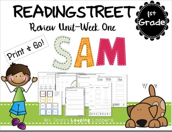 Sam-Reading Street- 1st Grade Review Unit Week One