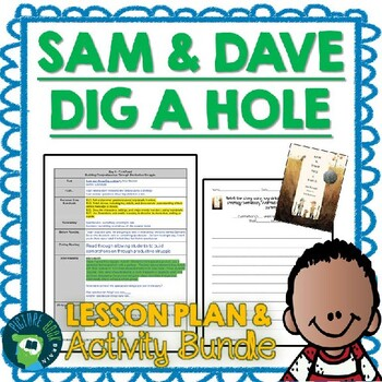 Sam and Dave Dig a Hole 4-5 Day Lesson Plan