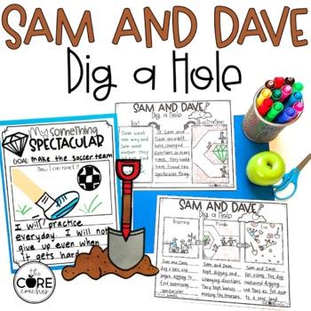 Sam and Dave Dig a Hole Read-Aloud Activity