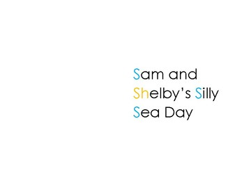 Sam and Shelby Silly Sea Story