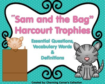 Sam and the Bag {Harcourt Trophies 1st Grade}