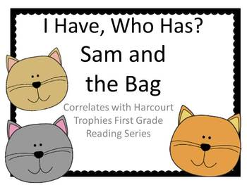 "Sam and the Bag ""I HAVE, WHO HAS?"" Sight Word Practice"