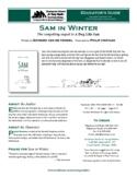 Sam in Winter (Edward van de Vendel/Philip Hopman) Novel D