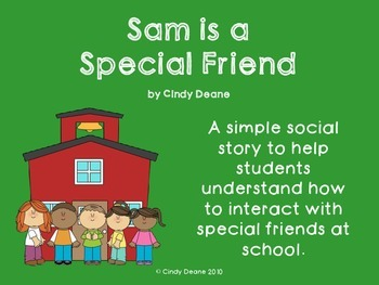 Social Skills for Autism: Sam is a Special Friend