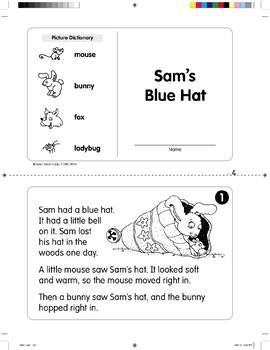 Sam's Blue Hat (Level G)