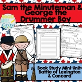 Sam the Minuteman & George the Drummer Boy