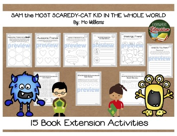 Sam the Most Scaredy-Cat Kid in the Whole World by Mo Willems 15 Extensions