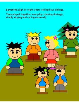 Samantha's Six Siblings