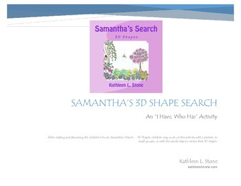 Samantha's 3D Shape Search