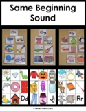 Same Beginning Sound-Consonants