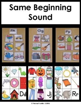 Same Beginning Sound-Consonants