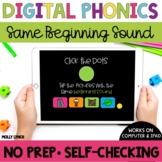 Distance Learning Same Beginning Sound Tappers Digital Pho