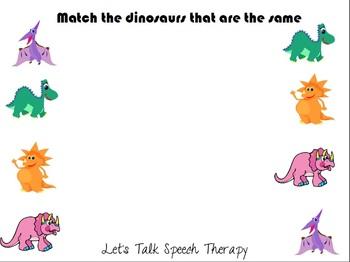 Same & Different Dinos