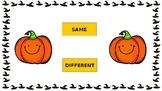 Same Different Halloween Pumpkins