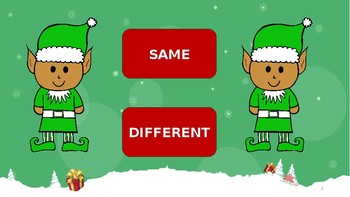 Same Different Holiday Elves