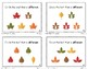 Same/ Different Task Cards- Fall Leaves