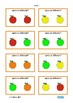 Same Different Visual Discrimination Fall Theme, Autism, Special Education