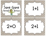 Same Game (Addition) - Matching Addition Cards Game