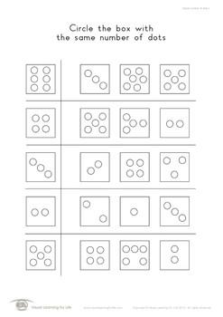 Same Number of Dots