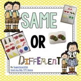 Same Or Different Book
