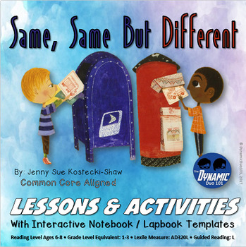 Same, Same But Different Lessons and Activities with Bonus Enrichment Test Prep