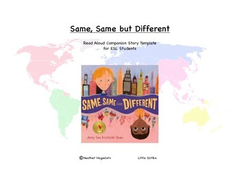 Same, Same but Different Connection Book for ESL Students