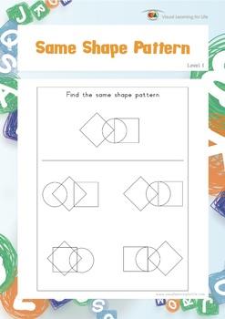 Same Shape Pattern