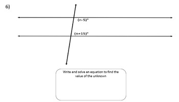 Same Side Interior Angles   Video Lesson, Notes, PowerPoint U0026 Printables!