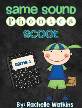 Same Sound Phonics Scoot Game 1
