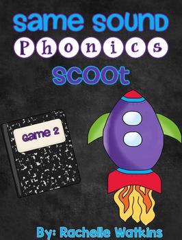 Same Sound Phonics Scoot Game 2
