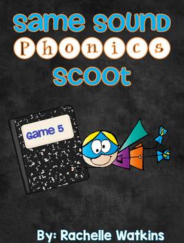 Same Sound Phonics Scoot Game 5