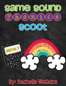 Same Sound Phonics Scoot Game 7