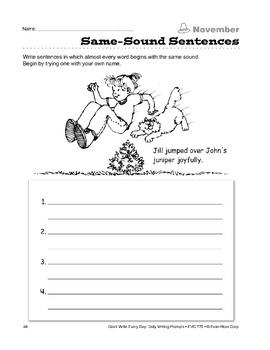 Same-Sound Sentences